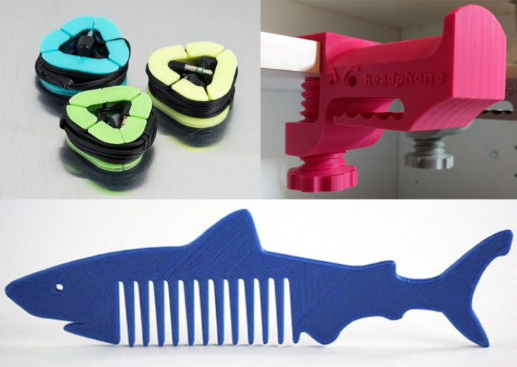 3D printed examples