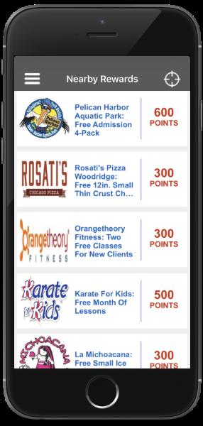 My Library Rewards app